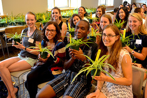 CANR Freshmen receive plants during inaugural Do More Than Learn...Grow challenge
