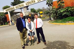 UD establishes partnership with La Molina University in Peru