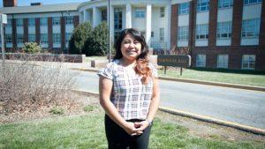 UD alumna Criztal Hernandez finds success with Produce Marketing Association