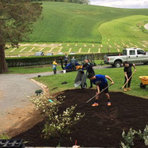 UD landscape architecture students, Master Gardeners conduct planting at Delaware's newest state park