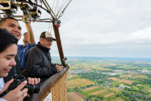 UD's Buler takes class up in hot air balloon to study landscape ecology