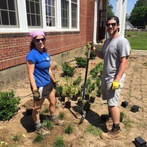 UD students, professors spruce up Leipsic Town Hall