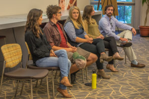 Water Symposium participants discuss land use legacy, water quality, and stream restoration
