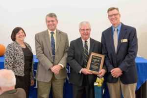 Ronald Ferriss receives distinguished alumni award