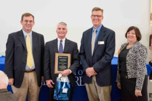 David Morris receives distinguished alumni award