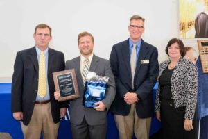 Joseph Rogerson receives distinguished young alumni award