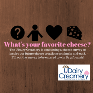 UDairy Creamery seeks input from UD community on cheese preferenc